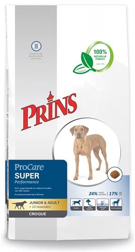 Prins ProCare Croque Super Performance hondenvoer 10 kg