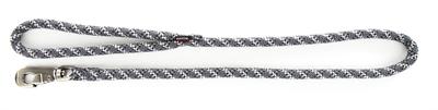 Looplijn voor hond nylon reflecterend grijs 13 mmx100 cm