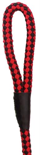 Nylon sierlijn gevlochten rood/zwart