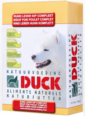 Duck Rund/lever/kip Compleet Breeder 8 Kg