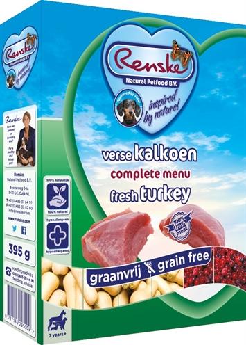 Renske Vers Vlees Kalkoen 10x395Gr Grootverpakking