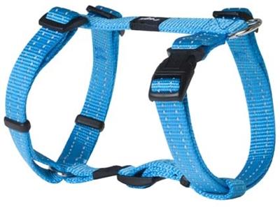 Rogz for Dogs Snake Hondentuig Verstelbaar Turquoise 52 x 1,6 cm