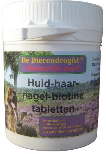 Dierendrogist huidhaarnagelbiotine tabletten