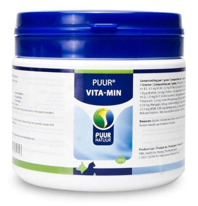 Puur natuur vitaminen en mineralen hond en kat Hondenvoer
