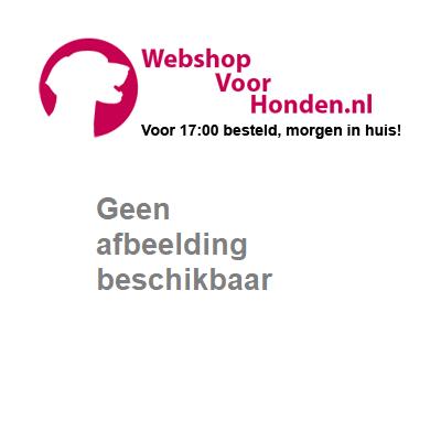 Kong air squeaker ball met touw geel/blauw - Kong - www.webshopvoorhonden.nl